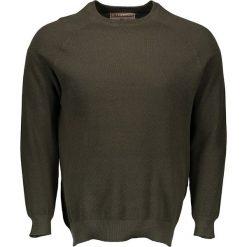 """Swetry klasyczne męskie: Sweter """"Kolten"""" w kolorze khaki"""