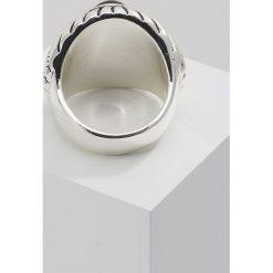 Sygnety męskie: Rebel Heritage CABOUCHONG Pierścionek silvercoloured