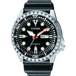 ZEGAREK CITIZEN Mechanical NH8380-15EE. Czarne zegarki męskie CITIZEN, ze stali. Za 870,00 zł.
