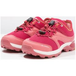Vaude KIDS KOBUK Obuwie hikingowe red cluster. Szare buty sportowe chłopięce marki Vaude, z materiału, rowerowe. Za 249,00 zł.