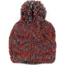 Czapka damska Prawdziwie zimowa pomarańczowa (cz13365). Brązowe czapki zimowe damskie marki Art of Polo, na zimę. Za 37,60 zł.