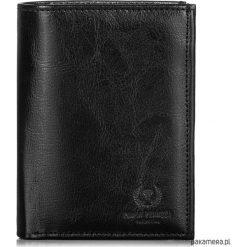 PORTFEL MĘSKI SKÓRZANY PAOLO PERUZZI L-01-PP. Czarne portfele męskie Pakamera, z materiału. Za 84,00 zł.