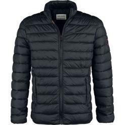 Shine Original Naperville - Puffer Jacket Kurtka zimowa czarny. Czarne kurtki męskie pikowane Shine Original, na zimę, m, z aplikacjami. Za 199,90 zł.