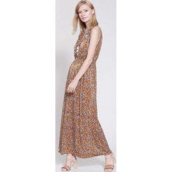 Sukienki: Brązowa Sukienka Retro Mood