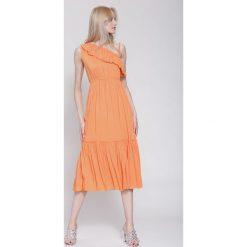 Sukienki: Pomarańczowa Sukienka Fantasy World