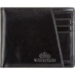 Portfel 21-1-267-1. Czarne portfele męskie marki Wittchen. Za 299,00 zł.