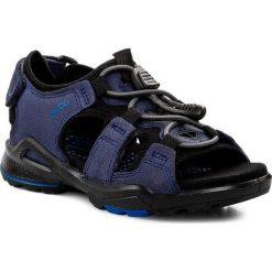 Sandały ECCO - Biom Sandal 70356250502  True Navy/Black. Szare sandały męskie skórzane marki Blukids. Za 329,90 zł.