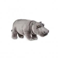 Maskotka DANTE National Geographic Hipopotam. Szare przytulanki i maskotki DANTE, z materiału. Za 69,90 zł.