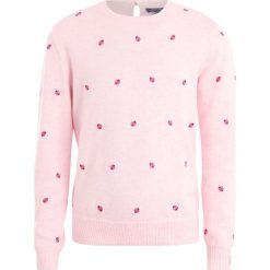 Polo Ralph Lauren LADYBUG TOPS Sweter hint of pink heather. Czerwone swetry dziewczęce marki Polo Ralph Lauren, z bawełny, polo. W wyprzedaży za 351,20 zł.
