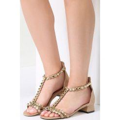 Sandały damskie: Beżowe Sandały Incorruptible