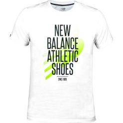 T-shirty męskie: New Balance AMT62646WT