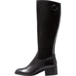 Pinto Di Blu Kozaki dyla. Czarne buty zimowe damskie Pinto Di Blu, z materiału. Za 689,00 zł.