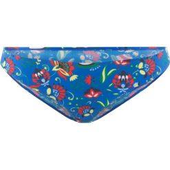 Figi bikini bonprix niebieski z nadrukiem. Niebieskie bikini bonprix, z nadrukiem. Za 21,99 zł.