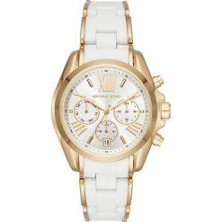 Zegarek MICHAEL KORS - Bradshaw MK6578 Gold/White/Gold. Białe zegarki damskie Michael Kors. Za 1369,00 zł.