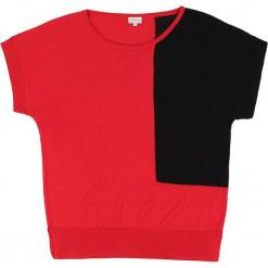 Sweter jedwabny w kolorze czerwono-czarnym. Czarne swetry klasyczne damskie marki Ateliers de la Maille, z jedwabiu. W wyprzedaży za 272,95 zł.