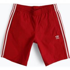 Adidas Originals - Męskie spodenki kąpielowe, czerwony. Brązowe spodenki sportowe męskie marki adidas Originals, z bawełny. Za 179,95 zł.