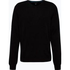 Andrew James - Sweter męski z czystego kaszmiru, czarny. Czarne swetry klasyczne męskie Andrew James, m, z kaszmiru, z dekoltem w serek. Za 379,95 zł.