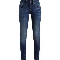 GStar LYNN MID SUPER SKINNY Jeans Skinny Fit elto superstretch. Niebieskie jeansy damskie marki G-Star, z bawełny. W wyprzedaży za 377,10 zł.