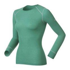 Odlo Koszulka damska Shirt Crew Neck Active Originals Warm zielona. T-shirty damskie marki Odlo. Za 128,74 zł.