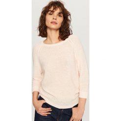 Sweter - Różowy. Czerwone swetry klasyczne damskie Reserved, l. Za 49,99 zł.