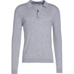 Swetry klasyczne męskie: Reiss CHEVIOT Sweter soft grey