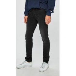 Blend - Jeansy Jet. Brązowe jeansy męskie slim marki Blend, l, z bawełny, bez kaptura. Za 169,90 zł.