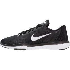 Buty do fitnessu damskie: Nike Performance FLEX SUPREME TR 5 Obuwie treningowe black/white