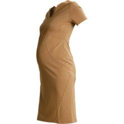 Sukienki hiszpanki: Slacks & Co. HONG KONG Sukienka z dżerseju camel
