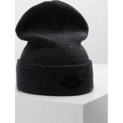 Rag & bone ADDISON BEANIE Czapka charcoal. Szare czapki zimowe męskie rag & bone, z materiału. Za 359,00 zł.