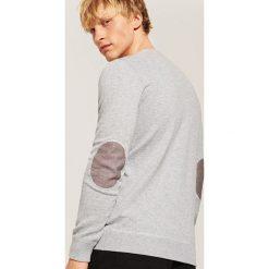 Gładki sweter - Szary. Szare swetry klasyczne męskie House, l. Za 59,99 zł.