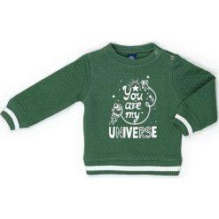 Bluza w kolorze zielonym. Zielone bluzy chłopięce marki Street Monkey, z bawełny. W wyprzedaży za 49,95 zł.