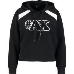 Odzież damska: Armani Exchange Bluza z kapturem black