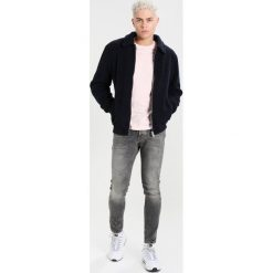 Topman VINT HEAVY TINT Jeans Skinny Fit grey denim. Szare rurki męskie Topman. Za 229,00 zł.