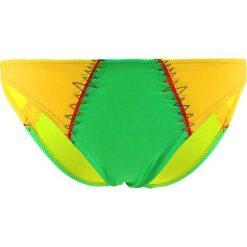 """Stroje dwuczęściowe damskie: Figi bikini """"Manzana"""" w kolorze żółto-zielonym"""