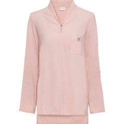 Bluzki damskie: Długa bluzka bonprix stary jasnoróżowy