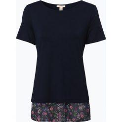 Esprit Casual - T-shirt damski, niebieski. Niebieskie t-shirty damskie Esprit Casual, xs, z szyfonu. Za 99,95 zł.