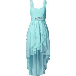Sukienki hiszpanki: Sukienka bonprix morski pastelowy