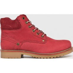 Wrangler - Buty. Różowe buty sportowe damskie Wrangler, z gumy. Za 399,90 zł.
