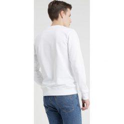 Calvin Klein Jeans MONOGRAM BOX LOGO CREW NECK Bluza white. Białe bluzy męskie Calvin Klein Jeans, m, z bawełny. Za 419,00 zł.