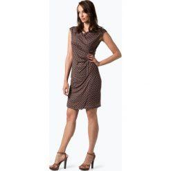 Cartoon Daydream - Sukienka damska, beżowy. Brązowe sukienki Cartoon Daydream, z kopertowym dekoltem, kopertowe. Za 249,95 zł.