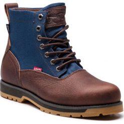 Kozaki LEVI'S - 228752-933-29 Dark Brown. Brązowe buty zimowe męskie marki Levi's®, z materiału. W wyprzedaży za 369,00 zł.