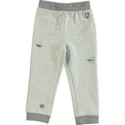 Spodnie niemowlęce: Spodnie dresowe w kolorze szarym