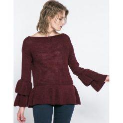 Haily's - Sweter. Szare swetry klasyczne damskie Haily's, l, z dzianiny, z okrągłym kołnierzem. W wyprzedaży za 59,90 zł.