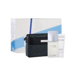 Kosmetyczki męskie: ISSEY MIYAKE L´Eau D´Issey Zestaw dla mężczyzn EDT 125ml + 75ml Żel pod prysznic + kosmetyczka