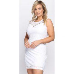 Sukienki: Biała Sukienka The Crown