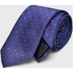 Medicine - Krawat Essential. Niebieskie krawaty męskie MEDICINE, z materiału. Za 29,90 zł.