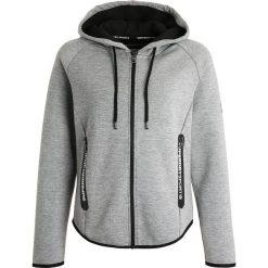 Bluzy damskie: Superdry TECH LUXE Bluza rozpinana grey grit/black