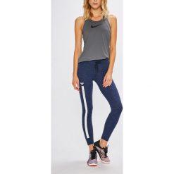 Roxy - Legginsy. Szare legginsy sportowe damskie marki Roxy, l, z bawełny. Za 169,90 zł.