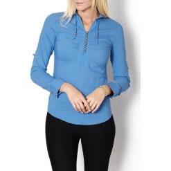 Koszule body: Koszula damska w kropki