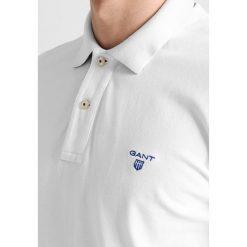 GANT CONTRAST COLLAR Koszulka polo white. Niebieskie koszulki polo marki GANT. Za 339,00 zł.